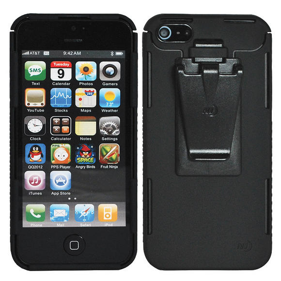 Case Design night ize phone case : Nite Ize Connect Case for iPhone 5 Solid Black