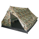 Mil-Tec Mini Pack Standard Two Man Tent Multitarn