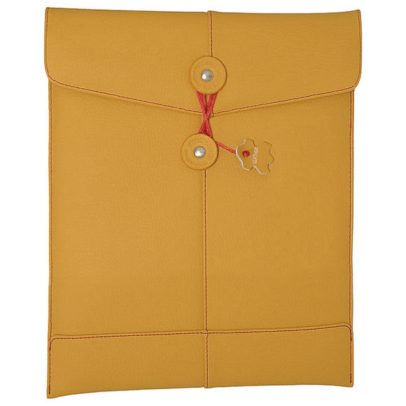 Civilian PadManila iPad Leather Sleeve Case Mango
