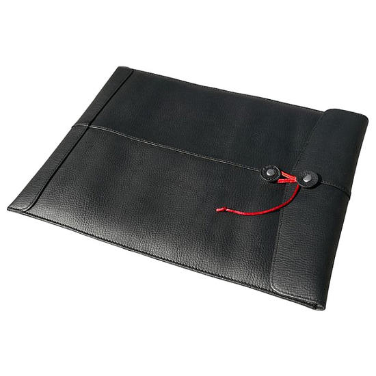 "Civilian Pro Manila-15 Leather Laptop Sleeve for MacBook Pro 15"" Black"