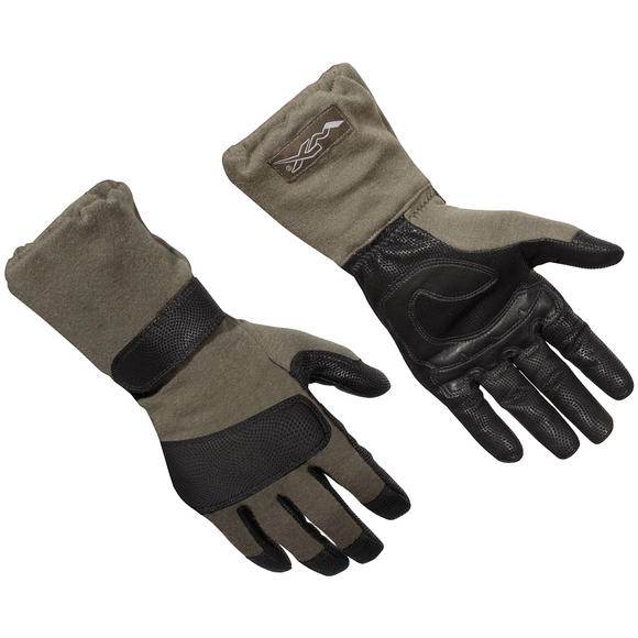 Wiley X Raptor Flame Resistant Combat Gloves Foliage Green