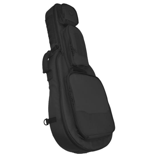 Hazard 4 Battle Axe Guitar Shaped Padded Rifle Case Black