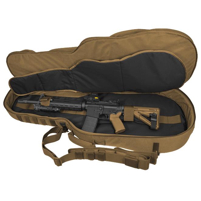 Guitar Shaped Gun Cases : hazard 4 battle axe guitar shaped padded rifle case coyote ~ Hamham.info Haus und Dekorationen