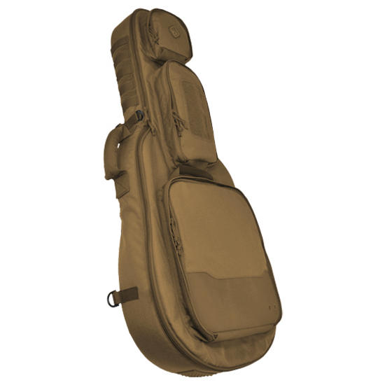 Hazard 4 Battle Axe Guitar Shaped Padded Rifle Case Coyote