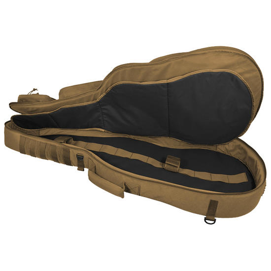 hazard 4 battle axe guitar shaped padded rifle case coyote gun bags cases military 1st. Black Bedroom Furniture Sets. Home Design Ideas