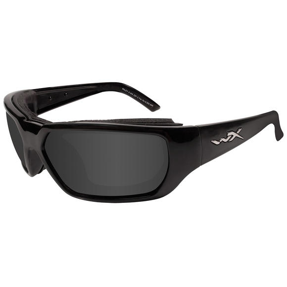Wiley X Rout Glasses - Grey Lens / Gloss Black Frame