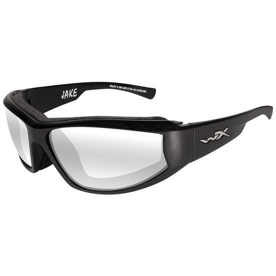 Wiley X Jake Glasses - Clear Lens / Gloss Black Frame