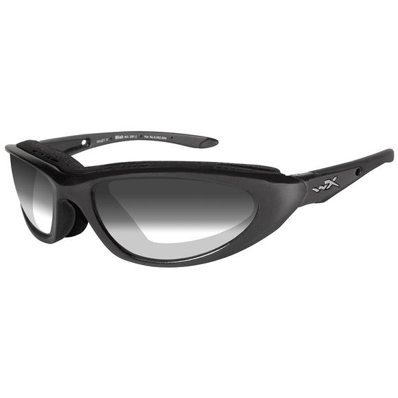 Wiley X Blink Glasses - Light Adjusting Smoke Grey Lens / Metallic Black Frame