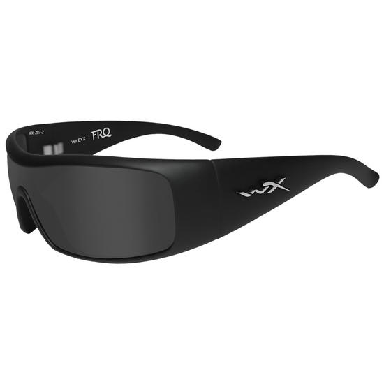 Wiley X WX FRQ Glasses - Polarised Smoke Grey Lens / Matte Black Frame