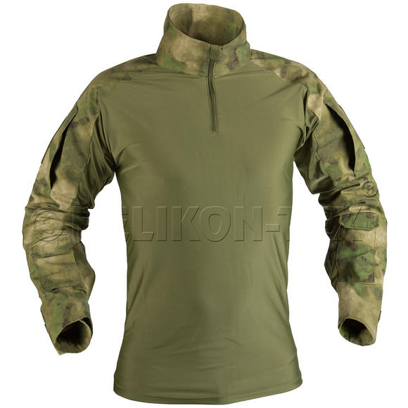 Helikon Combat Shirt with Elbow Pads A-TACS FG