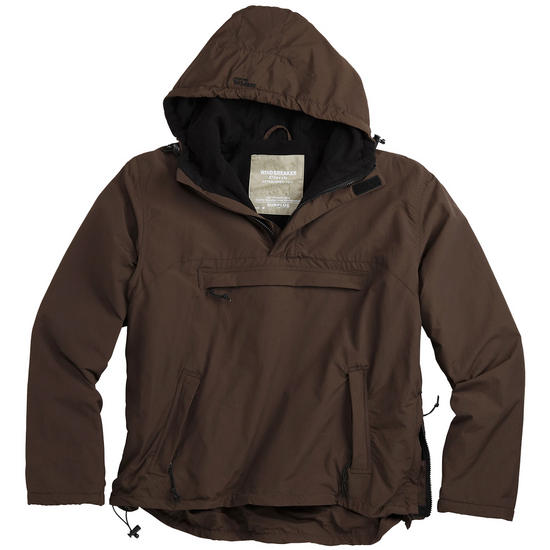 Surplus Windbreaker Jacket Brown