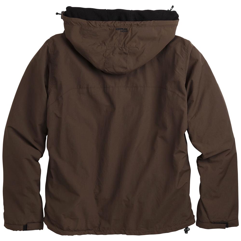 Brown Fleece Jacket