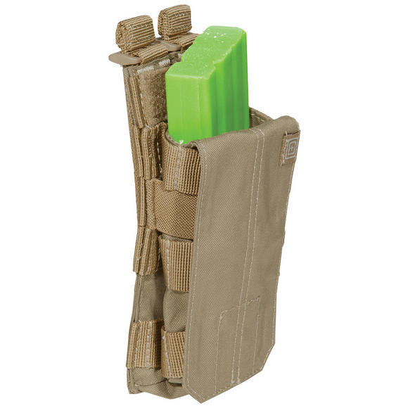 5.11 Single AR/G36 Bungee Cover Mag Pouch Sandstone