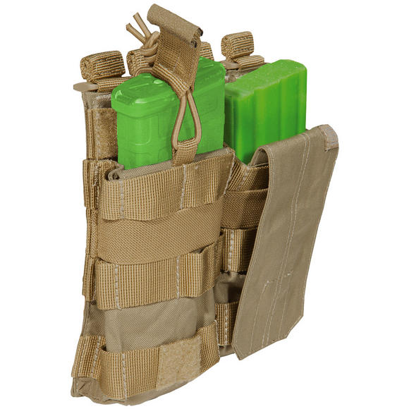 5.11 Double AR/G36 Bungee Cover Mag Pouch Sandstone
