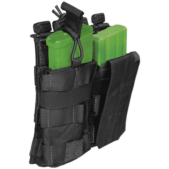 5.11 Double AR/G36 Bungee Cover Mag Pouch Black