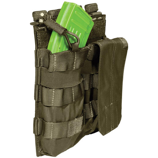5.11 Double AK Bungee Cover Mag Pouch TAC OD