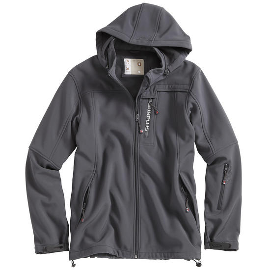 Surplus Softshell Beast Anthracite