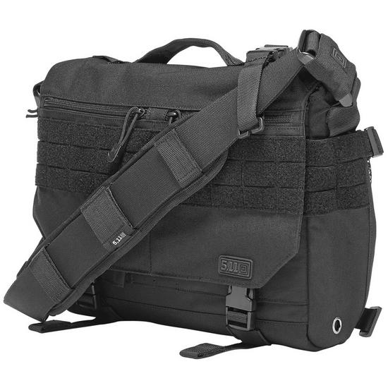 5.11 Mike Class Rush Delivery Messenger Bag Black