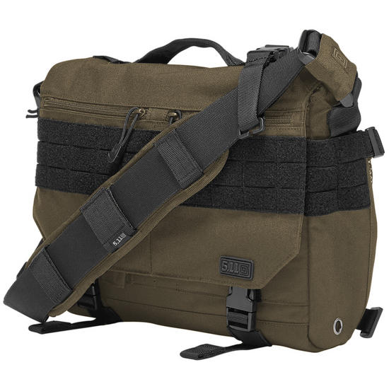 5.11 Mike Class Rush Delivery Messenger Bag OD Trail