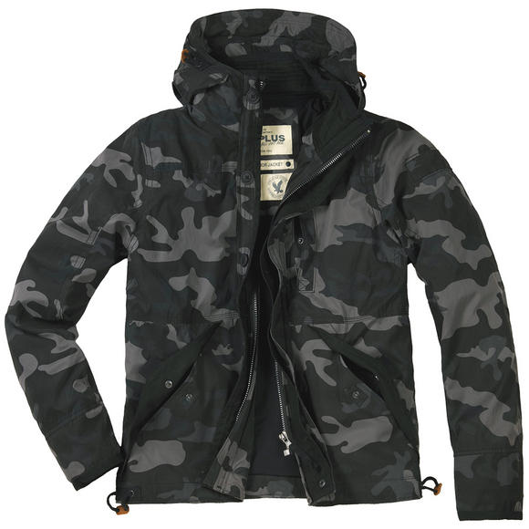 Surplus New Savior Jacket Black Camo