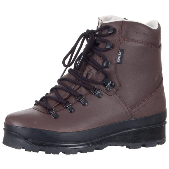 Mil-Tec German Army Mountain Boots Brown