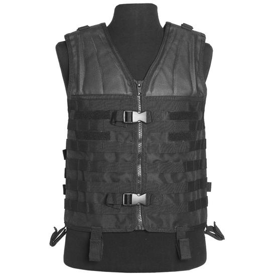 Mil-Tec MOLLE Carrier Vest Black Preview