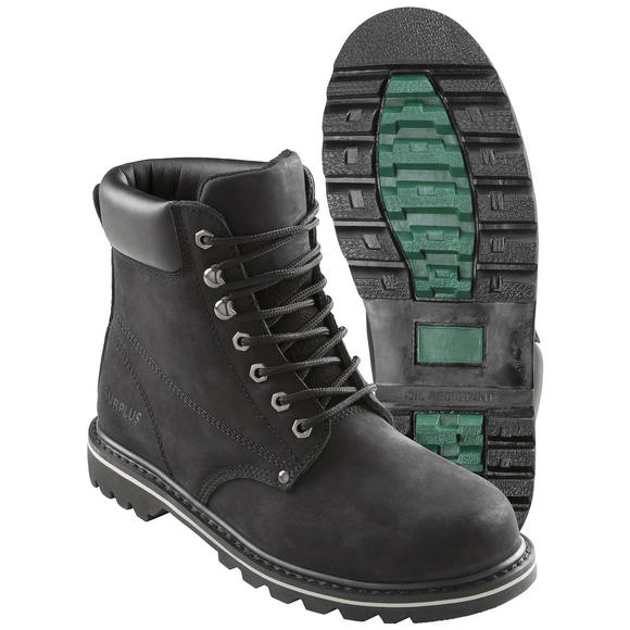 "Surplus Trooper Security 8"" Boots Black"