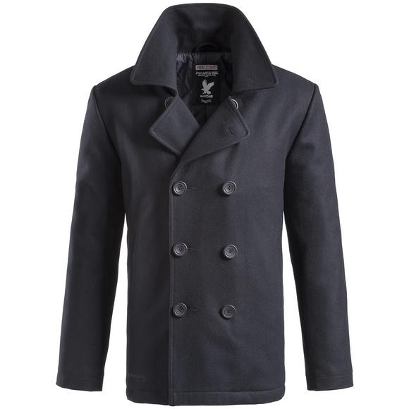 Surplus Pea Coat Navy
