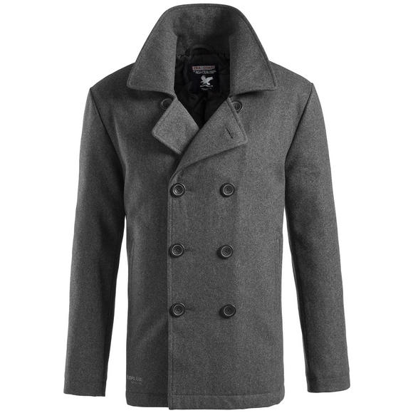 Surplus Pea Coat Anthracite