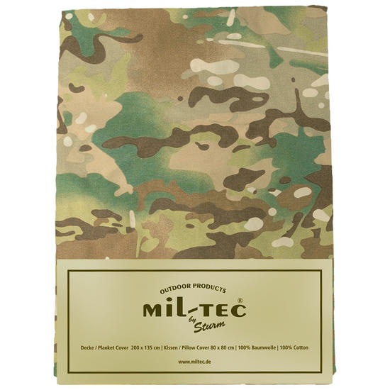 Mil-Tec Two Piece Bedding Set Multitarn