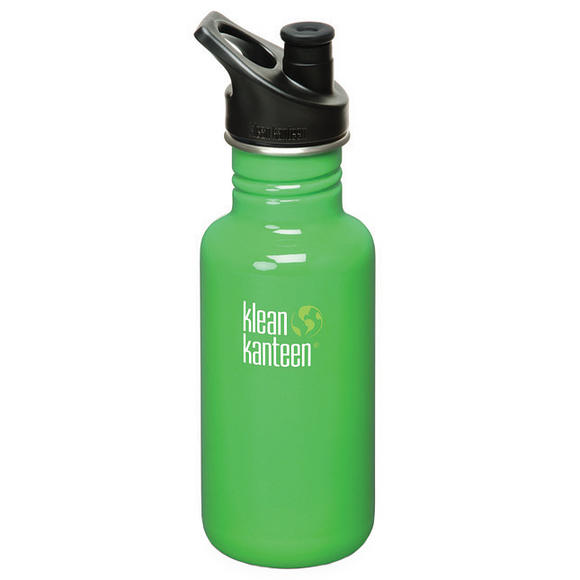 Klean Kanteen Classic 532ml Bottle with Sport Cap 3.0 Organic Garden