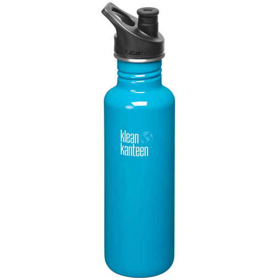 Klean Kanteen Classic 800ml Bottle with Sport Cap 3.0 Channel Island