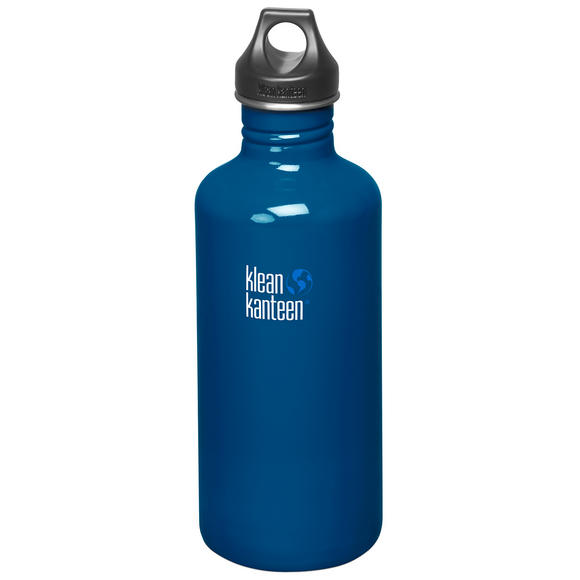 Klean Kanteen Classic 1182ml Bottle with Loop Cap Blue Planet