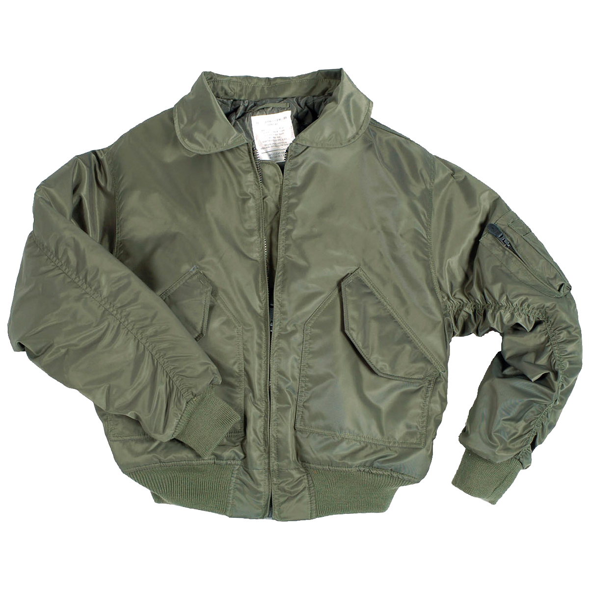 Mil-Tec US CWU Flight Jacket Basic Olive | Flight | Military 1st