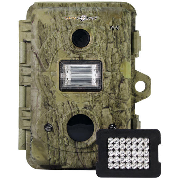 SpyPoint FL-8 Flash / Infrared Digital Trail Camera Camo