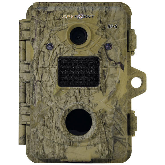 SpyPoint BF-6 Invisible Black LED Trail Camera Camo