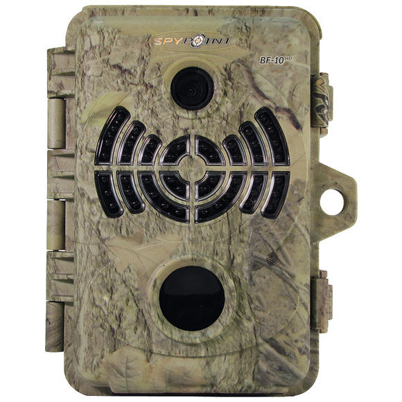 SpyPoint BF-10HD Invisible Black LED Trail Camera Camo