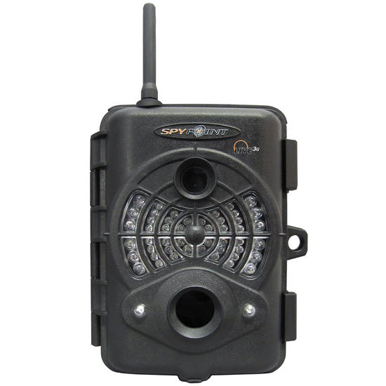 SpyPoint Live 3G Cellular Infrared Digital Surveillance Camera Black