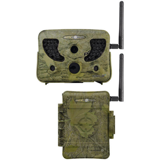 SpyPoint TINY-W3 Black IR LED Wireless Trail Camera System Camo
