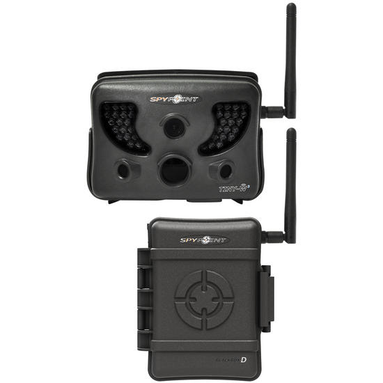 SpyPoint TINY-W3 Black IR LED Wireless Surveillance Camera System Black