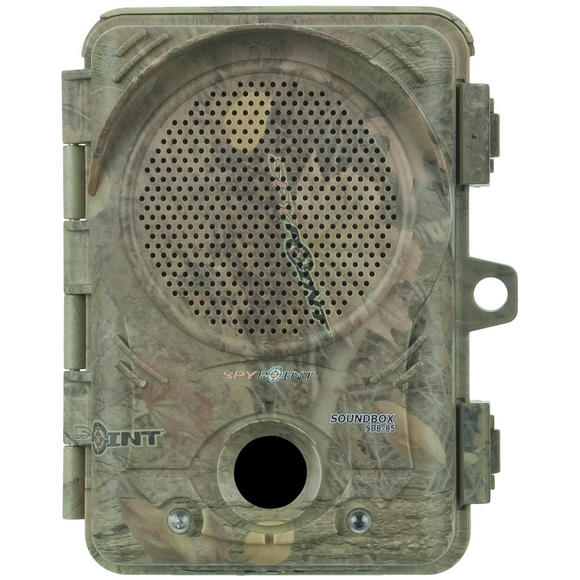 SpyPoint SDB-85 'Soundbox' Audio Repeller System Camo
