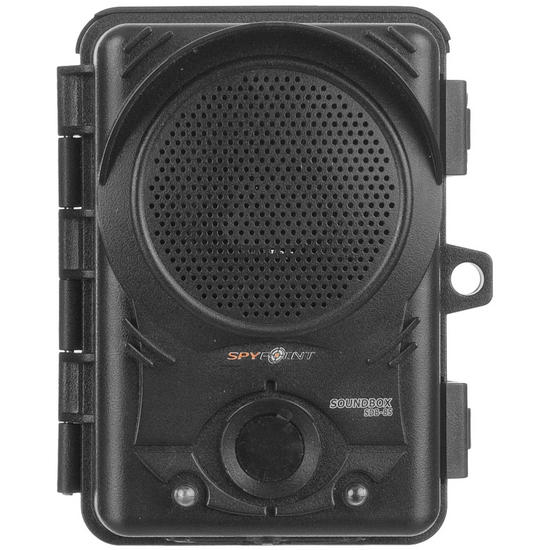 SpyPoint SDB-85 'Soundbox' Audio Repeller System Black