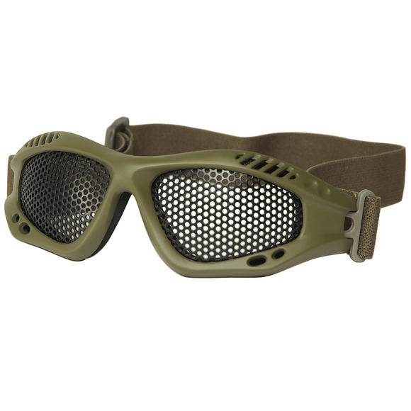 Mil-Tec Tactical Metal Wire Goggles Olive