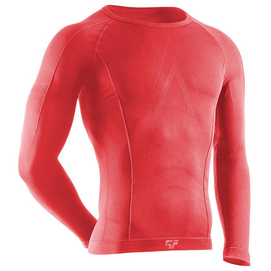 Tervel Comfortline Shirt Long Sleeve Red
