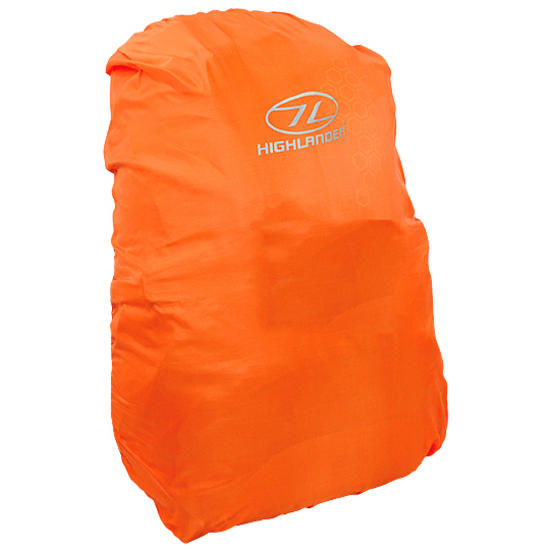 Highlander Waterproof Rucksack Cover Small Orange