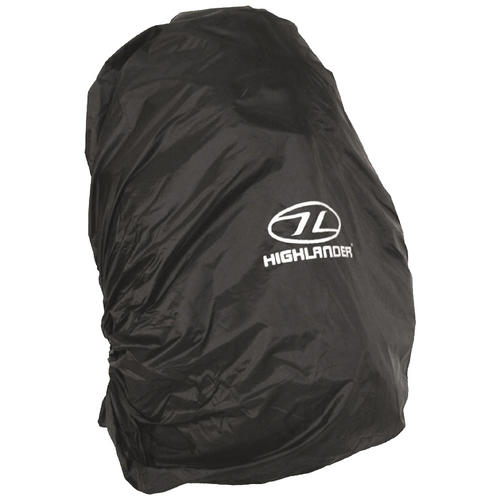 Highlander Waterproof Rucksack Cover Medium Black