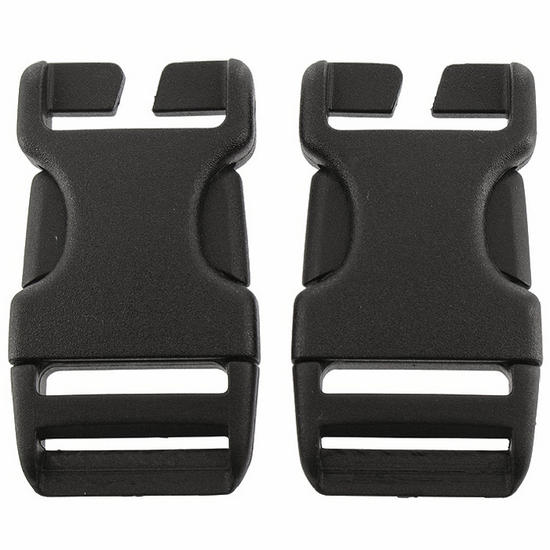 Highlander Quick Release Buckle 25mm Black