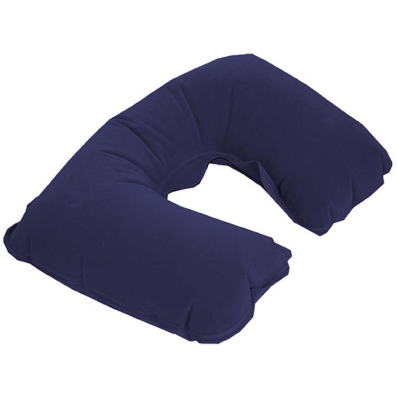 Highlander Inflatable Head Rest Navy Blue