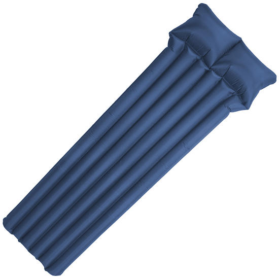 Highlander Backpacking Airbed with Pump Blue