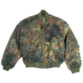 Mil-Tec MA-1 Flight Jacket Flecktarn